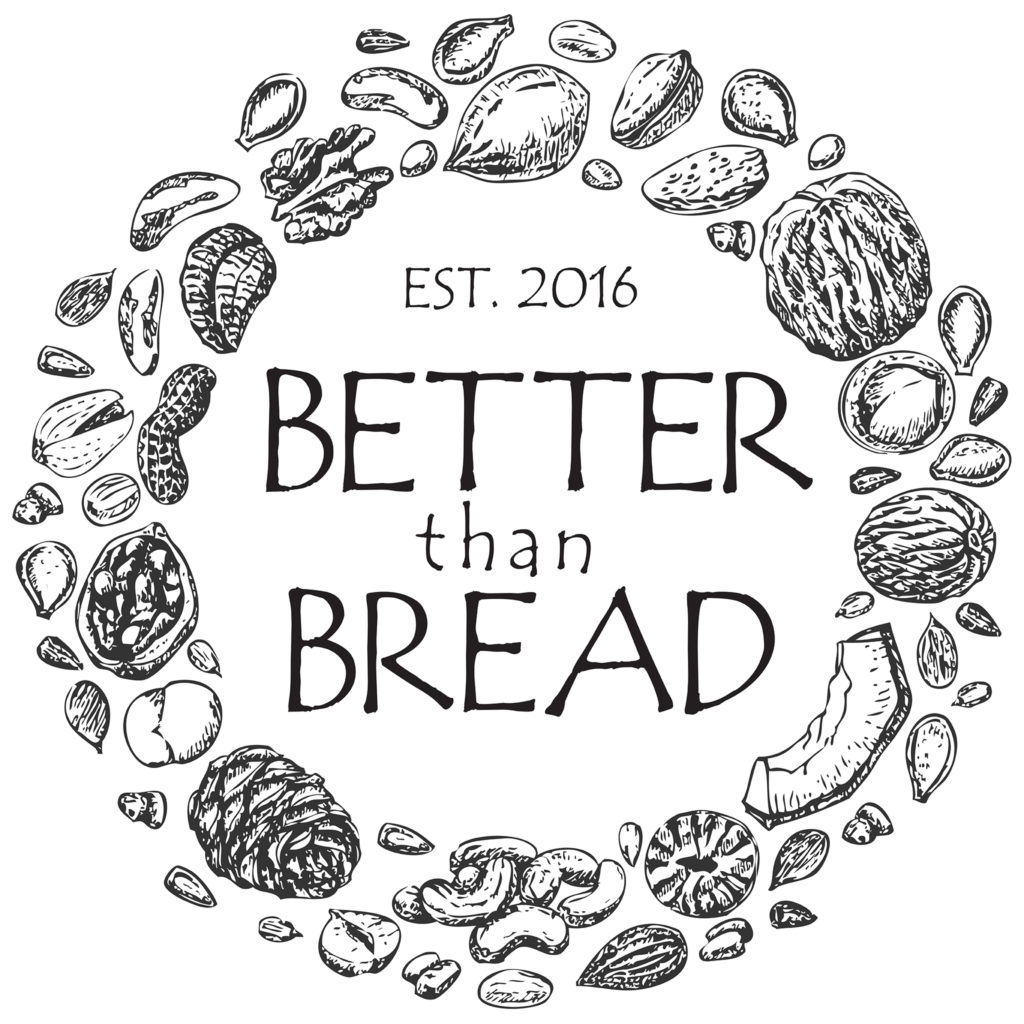 """Better Than Bread Logo"" displays ""Established In 2016"""