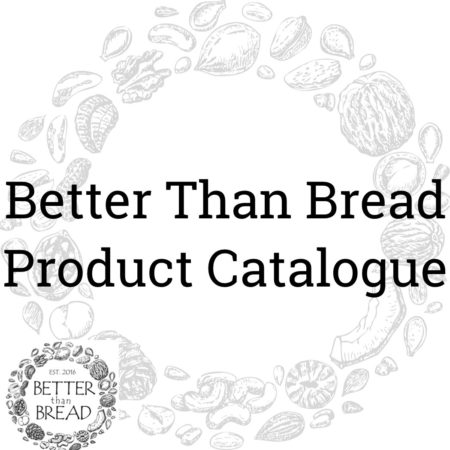 Better Than Bread Product Catalogue