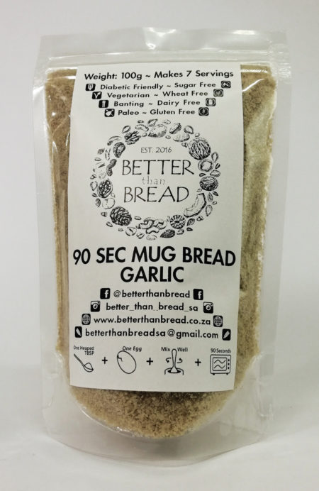Better Than Bread - 90 Second Mug Bread _ Garlic