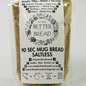Better Than Bread - 90 Second Mug Bread - Saltless