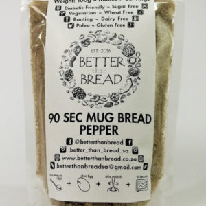 Better Than Bread - 90 Second Mug Bread - Pepper