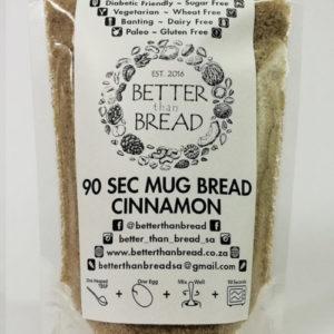 Better Than Bread - 90 Second Mug Bread - Cinnamon