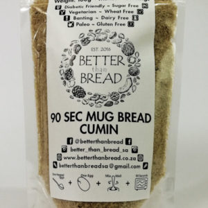 Better Than Bread - 90 Second Mug Bread - Cumin
