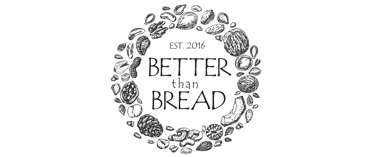 Better Than Bread Banner Logo with white space.