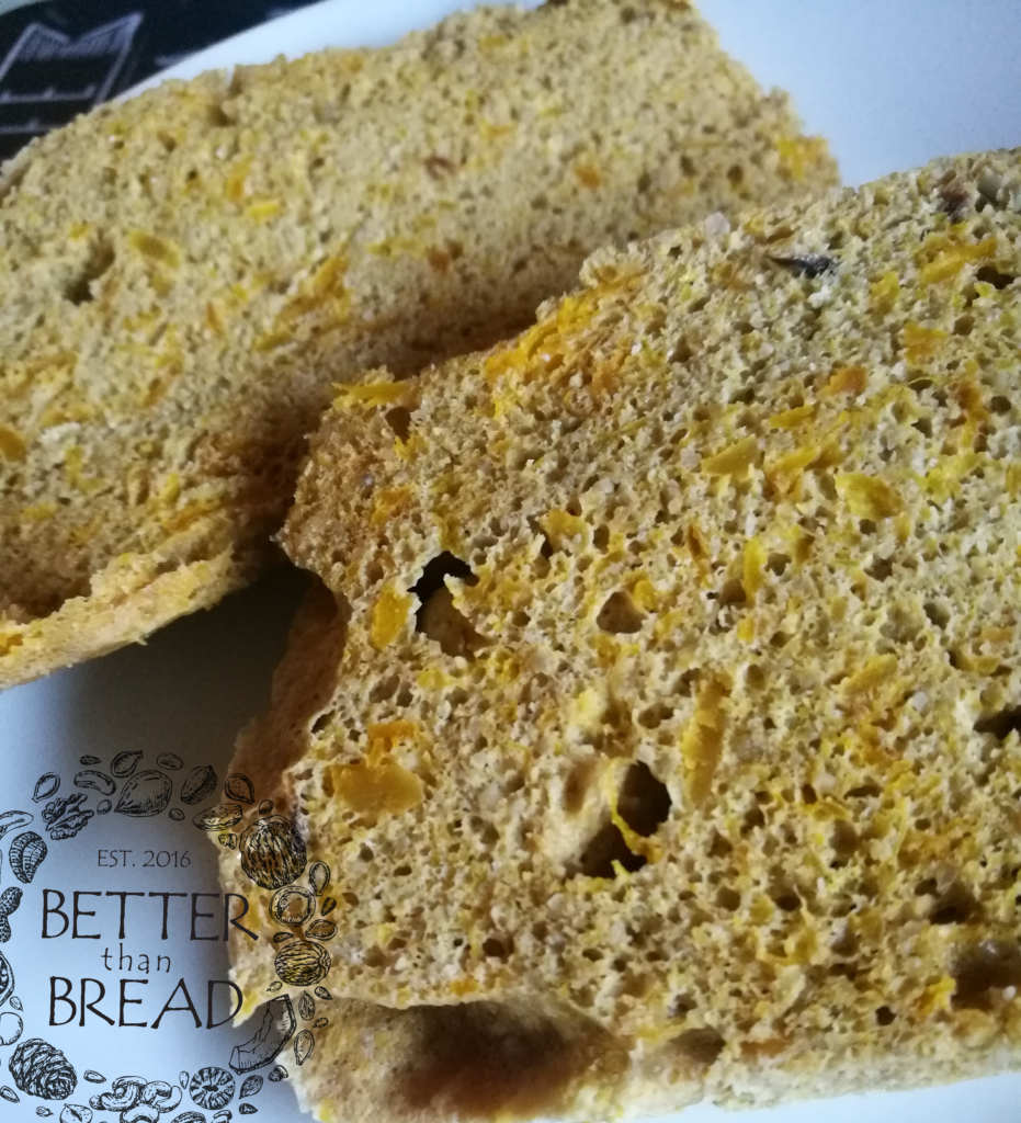 Better Than Bread Pumpkin Loaf - Serving For One